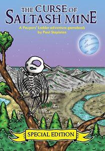 THE CURSE OF SALTASH MINE Special Ed. Adventure Gamebook (a la Fighting Fantasy)