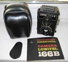 Lubitel-166B LOMO Lomography 6x6 cm twin lens medium format TLR film camera USSR