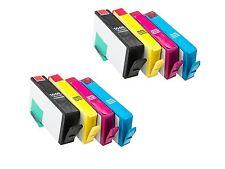 8 INK for Non-OEM HP 564XL OfficeJet 4610 4620 4622 Deskjet 3070a 3520 3521 3522