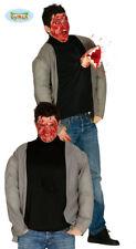 Tuta di pelle di Zombie Orrore Halloween cruenti 2nd Pelle Costume Unisex Uomo Donna