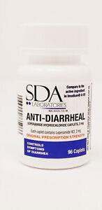 Anti-Diarrheal 2MG 96 Caplets by SDA LABS