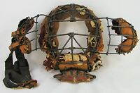 VINTAGE CATCHER'S MASK 1900'S LOOPS AND CLIPS UMPIRES MASK-MOVABLE  EAR GUARDS