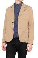 Zwei-Knopf Herren-Anzüge aus Baumwolle mit Regular ohne Muster