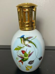 Lampe Berger Porcelain Limoges Paris France HUMMINGBIRDS Rare!
