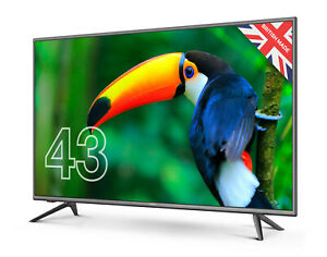 """CELLO 43"""" INCH FULL HD LED TV FREEVIEW HD, 3 x HDMI & USB. MINOR SCREEN DEFECT"""