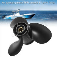 9 1/4 x 10 Aluminum Propeller For Evinrude Johnson BRP Outboard 8-15HP 174950