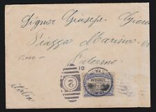 US 297 5c Pan-American on Small Cover to Palermo, Italy