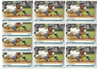 x100 OZZIE ALBIES 2019 Topps Series 2 Future Stars Card lot/set #561 Braves Mint