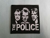 The Police Sew or Iron On Patch