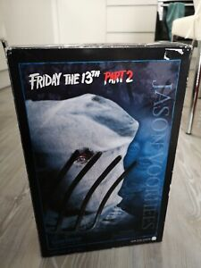 """Sideshow Collectibles 12"""" Friday The 13th Part 2 Jason Voorhees Figure"""