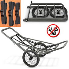 Portable Deer Cart Game Hauler Utility Gear Dolly Hunting Accessories Wheels NEW
