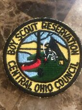 Boy Scout Reservation  Central Ohio Council Patch BSA Old Twill