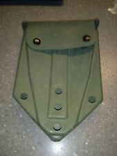 Entrenching E-Tool Shovel Carrier Pouch Cover Case OD GREEN w Alice Clips GC