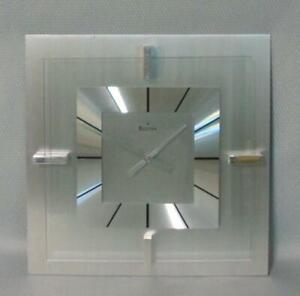 Bulova Accutron Jewelry Store Mid Century Modern Wall Advertising Clock