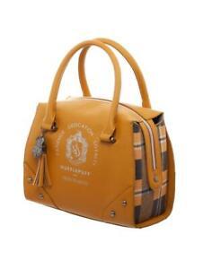 Harry Potter Hufflepuff Luxury Plaid Top Handbag