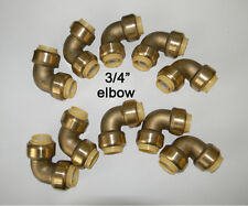 10 piece Lot of Sharkbite Style 3/4 inch Push Fit Elbow