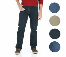 Wrangler NEW Mens Advanced Comfort Straight Leg 4-Way Flex Tech Jeans