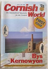BYS KERNOWYON 1994 Premiere Issue of CORNISH WORLD Magazine