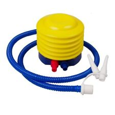 Compact Foot Pump Inflatable Pool Floats Inflates and Deflates Multi Nozzle Air