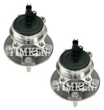 Pair Set of 2 Rear Timken Wheel Bearing and Hub Kit for Ford Focus 2012-2017 FWD