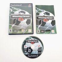 World Soccer Winning Eleven 6 International PS2 PlayStation 2 Black Label CIB
