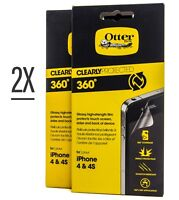 OtterBox Clearly Protected 360 scratch resistant Screen Protector iPhone 4/4s