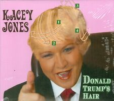 Kacey Jones CD Donald Trump's Hair Brand New Factory Sealed Comedy