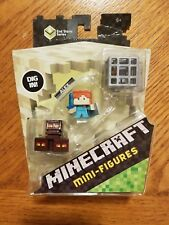 Minecraft End Stone Series 6  3 Packs Magma Cubes Alex Spawning Skeleton New