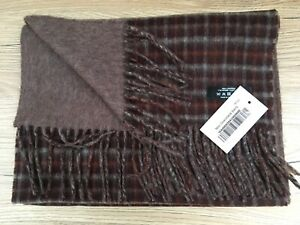 Gents Reversible Cashmere Scarf Made in Scotland