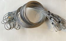 """6 Hog Wolf Snare, 96""""-1/8 7x7, Cam lock, Animal Trap, snare, New Sale"""