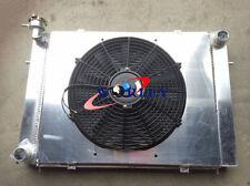 For Holden Commodore VG VL VN VP VR VS V8 AUTO Aluminum Radiator + Shroud Fan