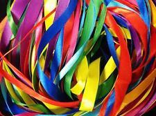 40 M Brillante Colorido Bolsa De Cinta De Raso 2.5 M x 2 X 8 Varios Colores anchos