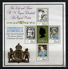 Dominica 1999 Queen Mothers 100th B/day SG2666/9 MNH