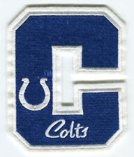 "INDIANAPOLIS COLTS NFL FOOTBALL 5"" LETTER PATCH"