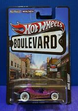 2012 Hot Wheels BOULEVARD DUNE DADDY SHOW ROD in Pink. Real Riders. VERY RARE