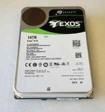 Seagate Exos X14 14TB SATA 6Gb/s 7200RPM 3.5 Enterprise Hard Drive ST14000NM0258