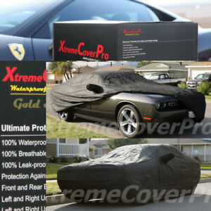 Custom fit 2021 DODGE CHALLENGER WATERPROOF CAR COVER BLACK