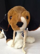 "Nintendo Interactive NINTENDOGS BEAGLE Hound Puppy Dog Plush Stuffed Animal 14"""