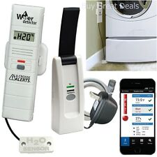 Wireless Remote Temperature Monitor System Set Smart Home Humidity Sensor Dry