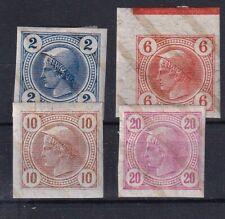 Österreich  Nr. , 101-104, *