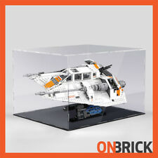 ONBRICK LEGO 75144 Star Wars Snowspeeder 3mm Premium Acrylic Display Case