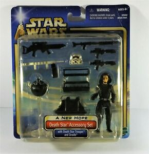 C 7.5 Star Wars ANH 2002 Death Star Accessory Set with Death Star Trooper MOC