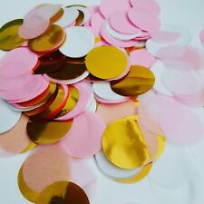 Pink And Gold Tissue Confetti Wedding Party Decorations Baby Shower