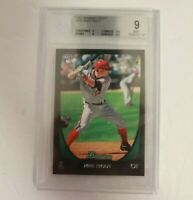 2011 Bowman Chrome Draft Mike Trout RC #101 Graded BGS 9 Mint