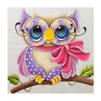 5D Diamond Owl Embroidery Painting Rhinestone Cross Stitch Craft 30*30cm E0Xc