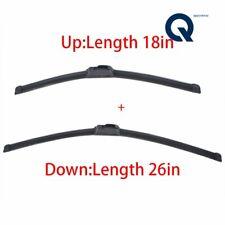 "26"" + 18"" PREMIUM Quality Windshield Wiper Blades (Set of 2)"