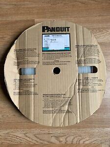 "Panduit Thin Wall Clear Heat Shrink Tubing 1"" x 100' Roll Spool  HSTT100-CC"