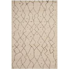"Safavieh Tunisia Collection TUN1811-KMK Ivory Area Rug, (5'1"" x 7'6"")"