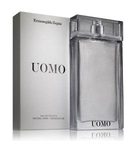 Ermenegildo Zegna Uomo Eau de Toilette EDT Perfume Spray 100ml Sealed Authentic