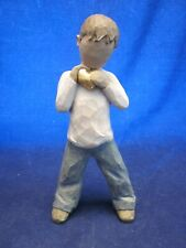 """Willow Tree Heart Of Gold 5.5"""" Boy Figurine Artist Susan Lordi EXCELLENT"""